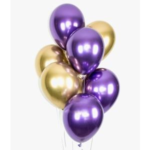 Balionai dėžėje Happy birthday apvalūs gimtadieniams