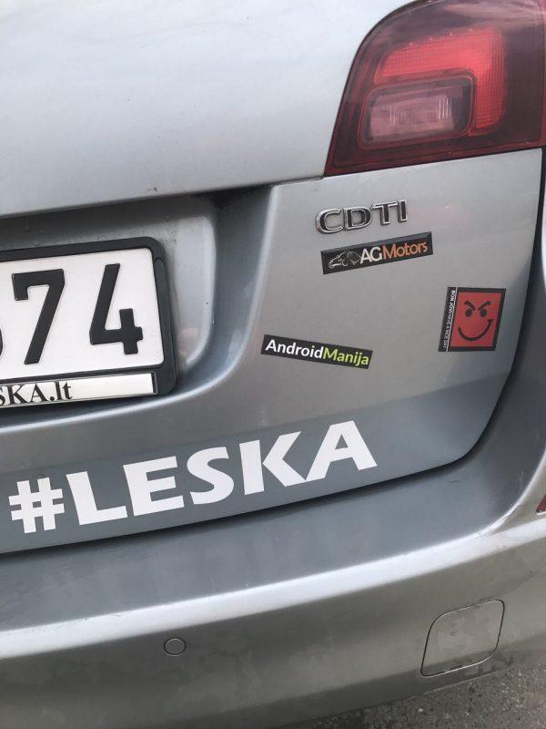 Auto lipdukai logo Vilniuje