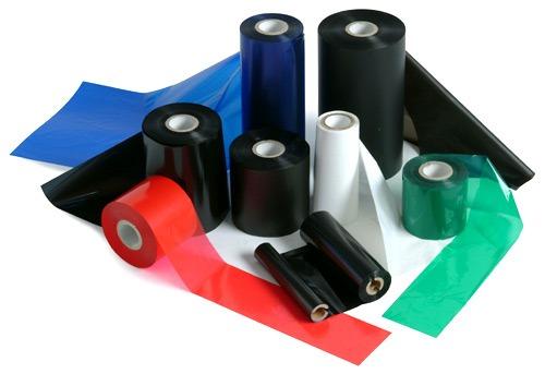 Įvairių dydžių dažančios spalvotos juostelės WAX