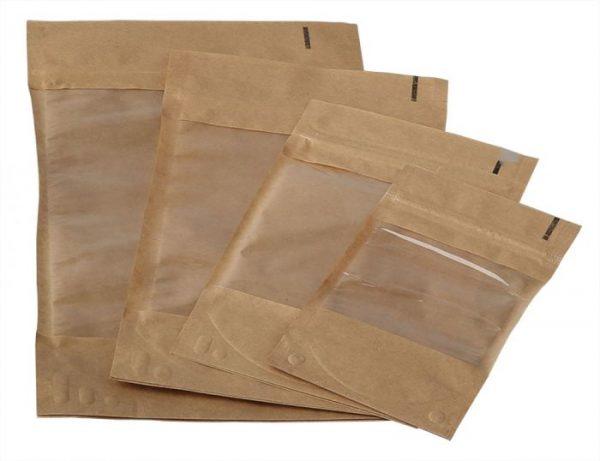 Doy-pack maišelis su langeliu