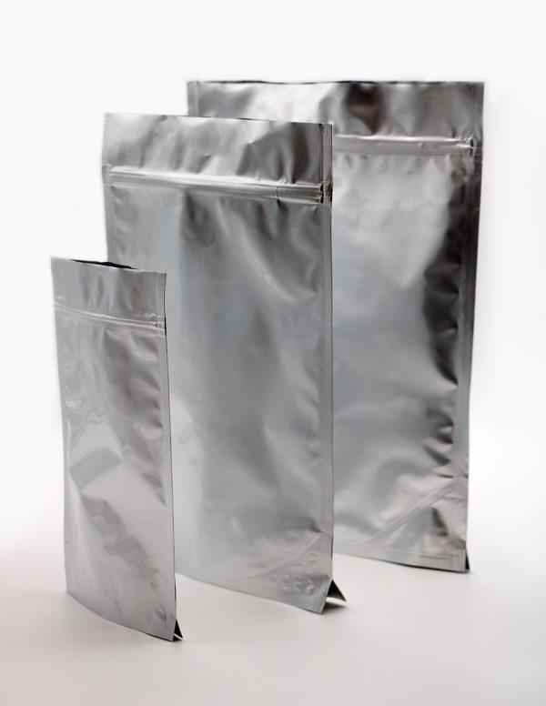 Doy-pack metalizuoti maišeliai