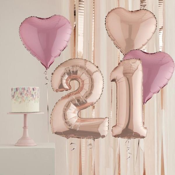 Foliniai balionai skaičiai blizgūs šventėms fotosesijoms