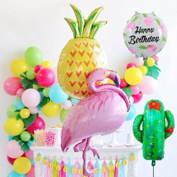 Foliniai balionai įviarių formų spalvų šventėms progoms