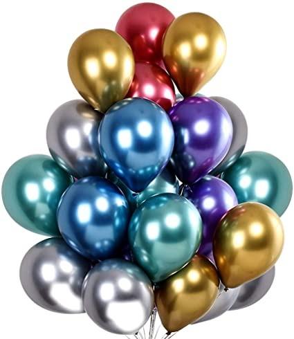 Helio guminiai balionai puokštė šventėms dekoracijai