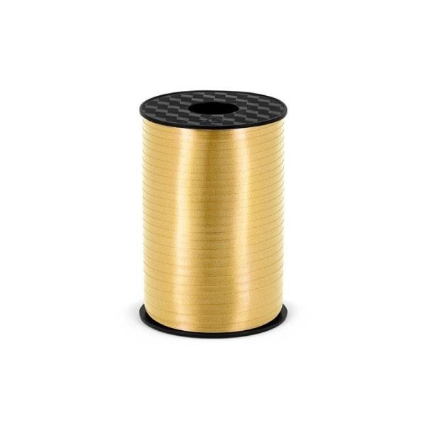 Plastikinė juostelė, auksinė (5 mm/225 m)