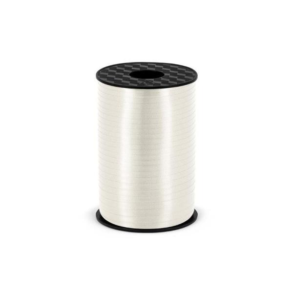 Plastikinė juostelė, balta (5 mm/225 m)